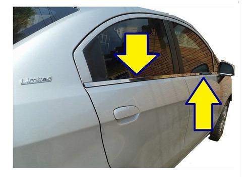 Accesorios Lamevidrios Cromados Chevrolet Sail Y Mas Modelos
