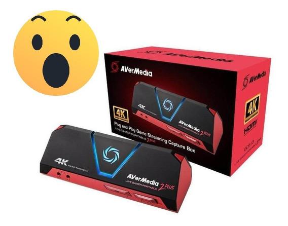 Avermedia Live Gamer Portable 2 Plus 4k Gc513 Lgp2