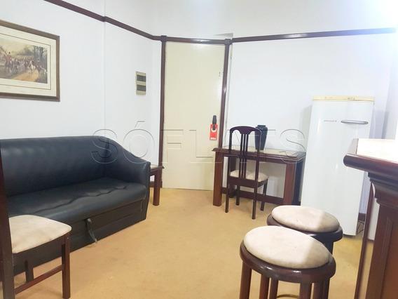 Flat No Centro De São Paulo, Melhor Custo Beneficio!!!