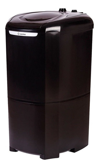 Lavadora De Roupas Wanke 12kg Semiautomática Preto