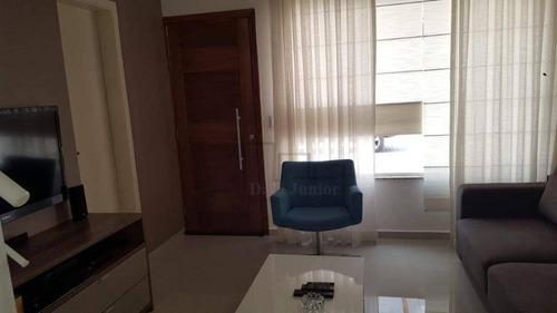 Casa À Venda, 124 M² Por R$ 575.000,00 - Condomínio Vila Lugano - Sorocaba/sp - Ca2347
