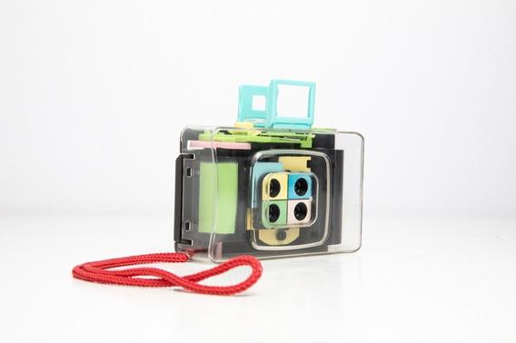 Câmera Fotográfica Mini Cute Lomo 4-lens Filme