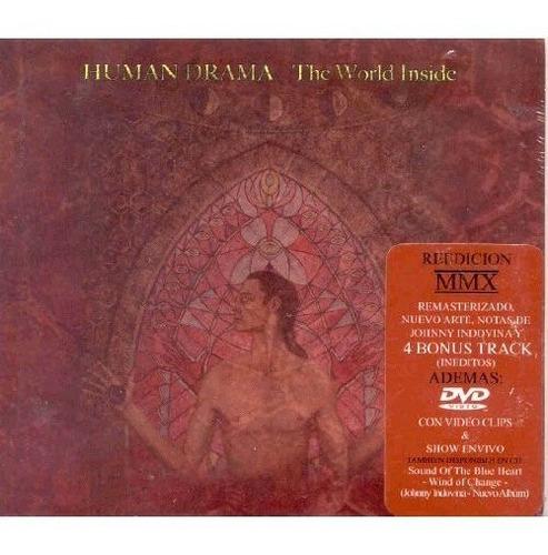 Imagen 1 de 1 de Human Drama  - The World Inside  - Cd + Dvd Digipack