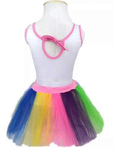 Fantasia Unicornio Infantil Feminino Com Tiara 2 A 12 Anos Mercado Livre