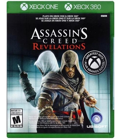 Jogo Assassins Creed Revelations Xbox One Lacrado Br Barato