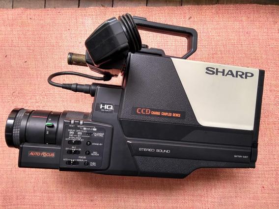Filmadora Sharp Vhs Modelo Vc-c20ua Para Colecionadores