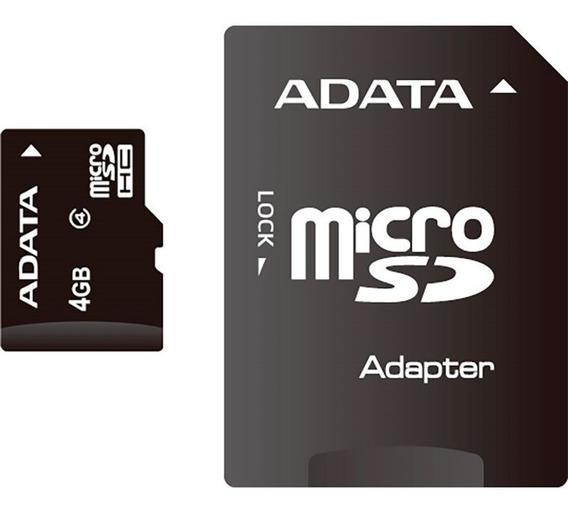 Cartão De Memória Adata 4gb Micro Sdhc Class 4-ausdh4gcl4-ra