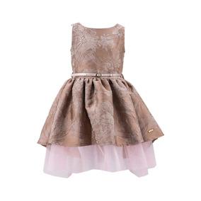 Vestido De Fiesta Para Niña Con Coleta 03912