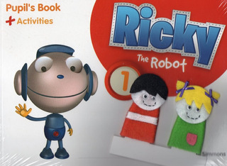 Ricky And The Robot 1 - Student´s Book - Pearson