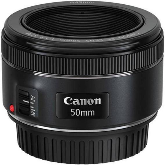 Lente Canon Ef 50mm F/1.8 Stm Nova