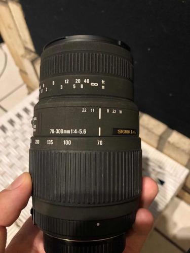 Lente Sigma Dg 70-300mm Leia O Anúncio Por Favor!
