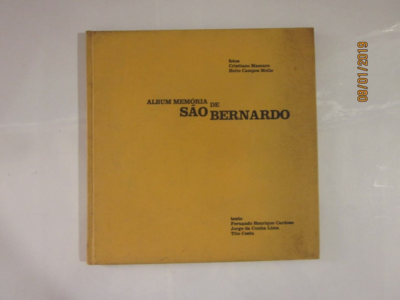 Livro Album Memória De São Bernardo