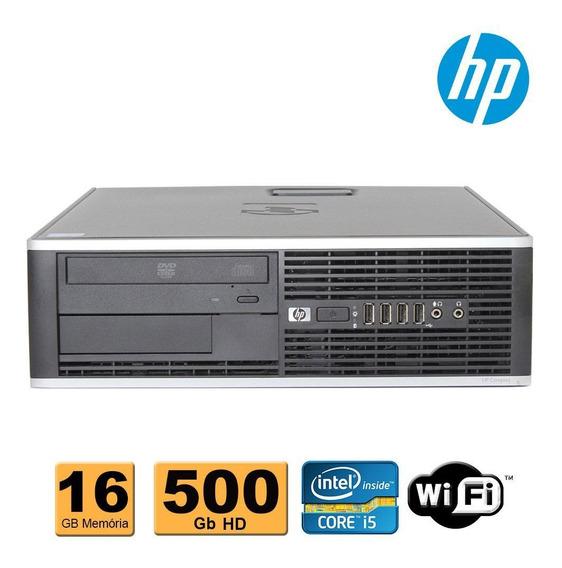 Cpu Hp Elite Intel Core I5 3.2 Ghz 16gb 500gb Wifi Promoção