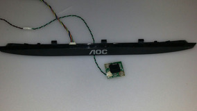 Botão Power +sensor Tv Aoc Le58d1441