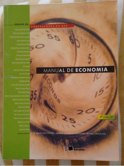 Livro Manual De Economia 4ª Edição - Professores Da Usp