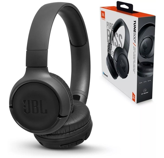 Headphone Jbl Original Tune 500 C/ Bluetooth Modelo 2019