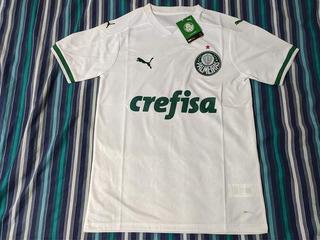 Camisa Palmeiras Branca G E Gg Sem Uso