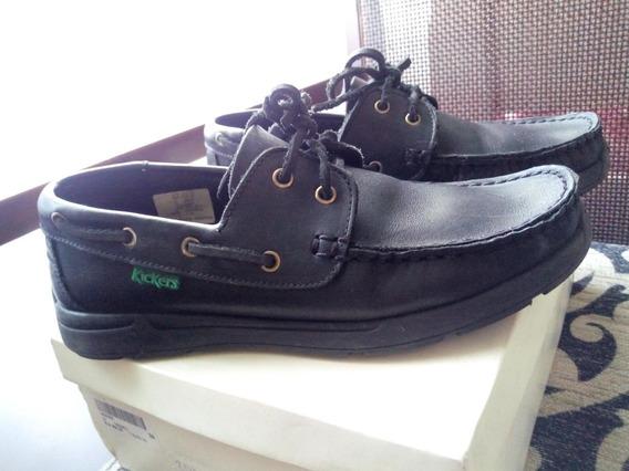 Zapatos De Cuero Kickers Originales