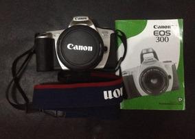 Canon Eos 300 - Câmera Fotográfica Analógica