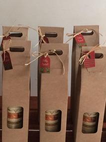 20 Caixas Para Vinho, Licor, Cachaça Em Papel Kraft 420 G