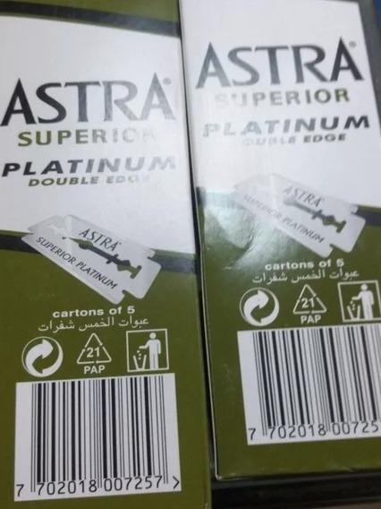 2 Caixas Lâmina Astra Russa Original