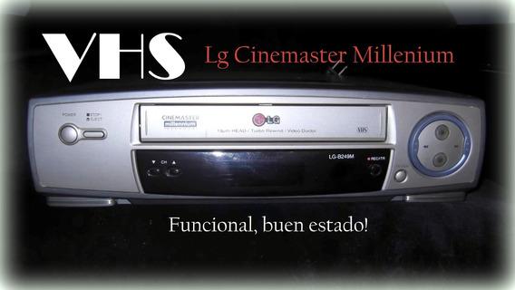 Vendo Vhs Lg Cinemaster Millenium En Buen Estado Funcional
