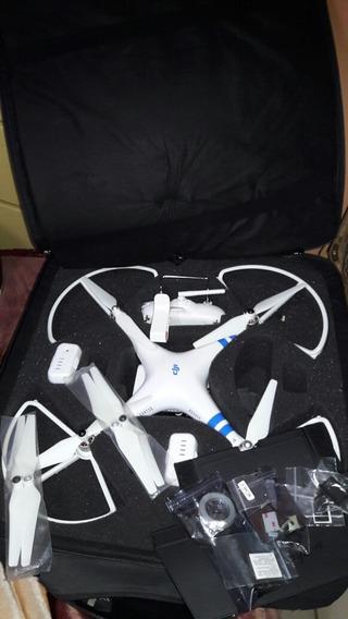 Drone Dj Phanton 2 Com Zenmuse Porta Celular E Tapasol