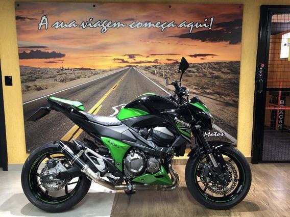 Kawasaki Z 800 2014 Verde E Preta