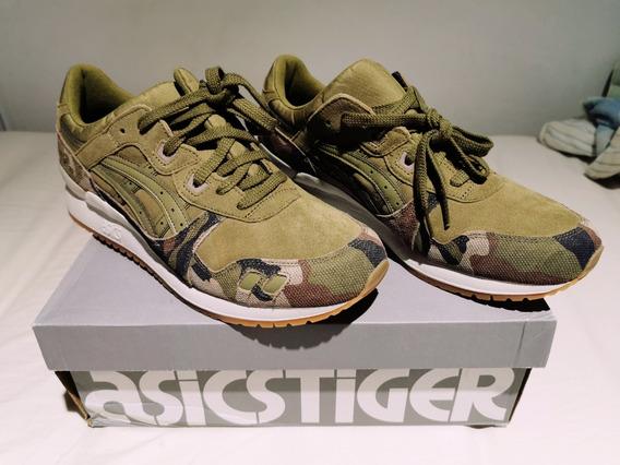 Tênis Asics Tiger Gel Lyte - Verde (novo Sem Uso)