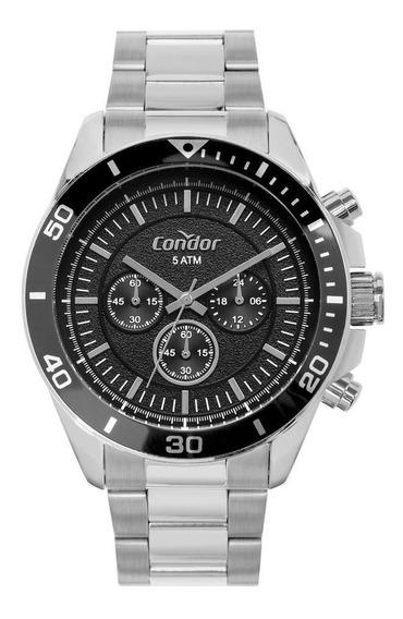 Relógio Condor Masculino Civic Preto Covd54bi/3p