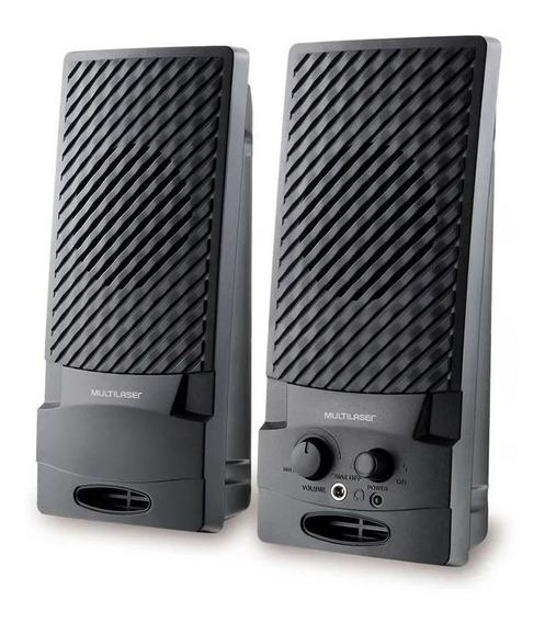Caixa De Som Multimidia Ouvir Son Audios Musicas No Pc Not