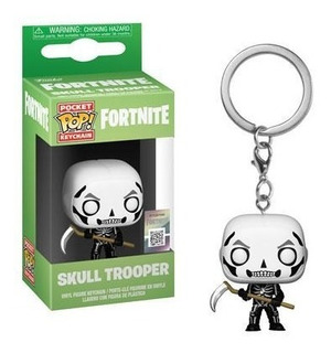 Funko Pop Keychain Fortnite Skull Trooper Nortoys