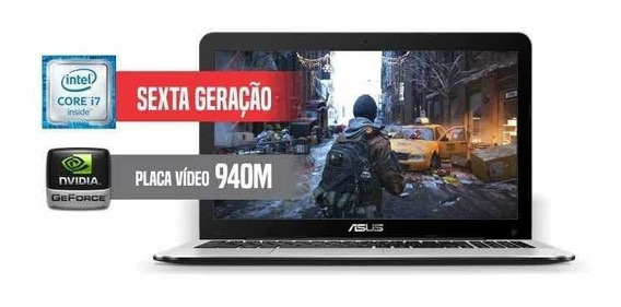 Notebook Gamer Asus X555ub I7 Gtx 940m Ssd 128gb Hd 1 Tb