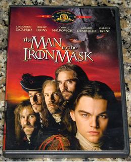 El Hombre De La Máscara De Hierro Dvd Original