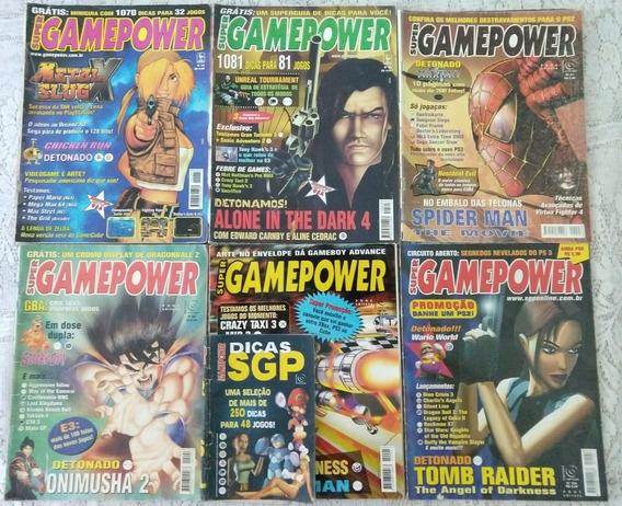 Lote Revistas Super Gamepower - 6 Edições