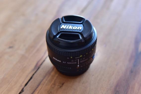 Lente Nikon 50mm F/1.8d Af (usada)