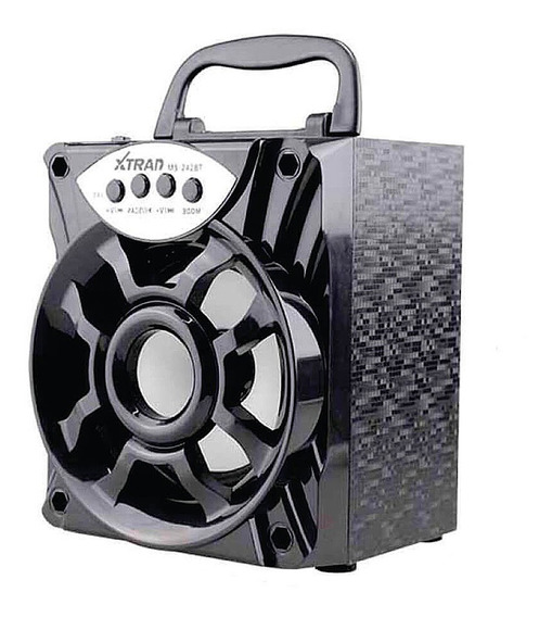 Caixa Caixinha De Som Portatil Bluetooth Sem Fio Usb Radiofm