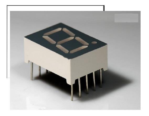 Display 7 Seg . Verm. 0,8¨ Wcn1 - 1080sr-a71r - Emb 100 Pçs