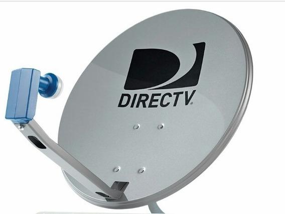 Antena Directv Nueva Completa Con Lnb Azul Hd 23verdes