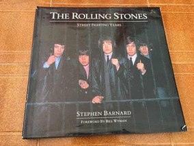 Livro Ilustrado Rolling Stones Street Fighting Years