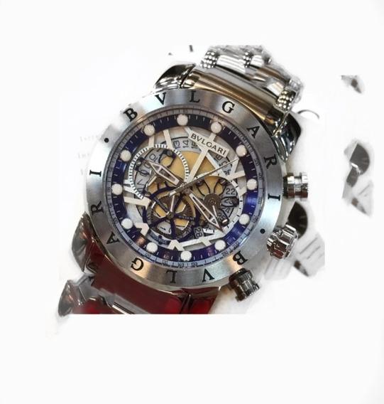 Relógio BvLG Skeleton Mx Original