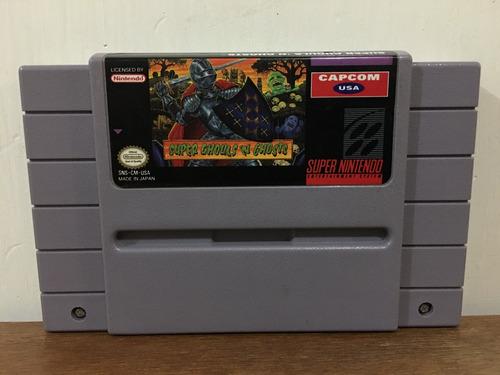 Super Ghouls N Ghosts Para Super Nintendo / Snes Buen Estado