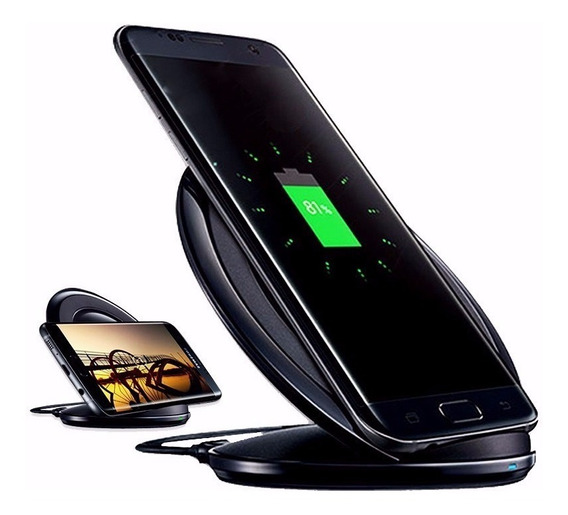 Carregador Wireless Sem Fio Samsung Fast Charge S6 S7 S8 S9