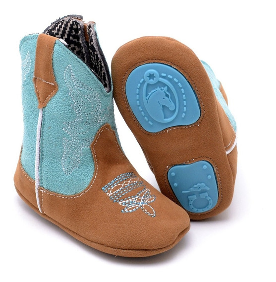 Sapato Bota Infantil Texana Baby Kids Word Country Confort