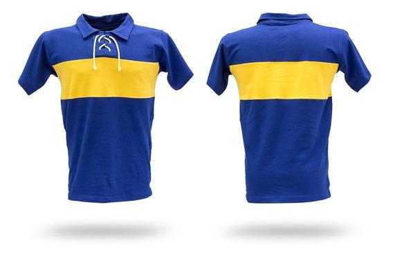 Camiseta De Futbol Retro De Boca