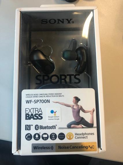 Fone De Ouvido Sony Wf-sp700n Wireless | Bluetooth Novo!