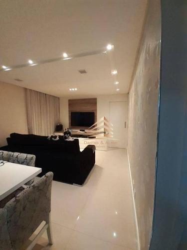 Imagem 1 de 30 de Apartamento No Condomínio Alegria, 114m², 3 Dormitórios, 1 Suíte, 2 Vagas, Ótimo Acabamento. - Ap1132