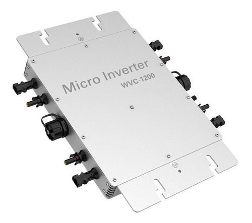 Micro Inversor Solar On Grid 1200w Inyeccion A Red 4 Mppt