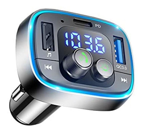 Transmisor Fm Bluetooth Lihan Para Automóvil, Adaptador