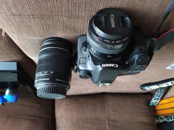 Canon 70d + Lente 50 Mm 1.4 + Lente 18mm 135mm - 3.5 5.6